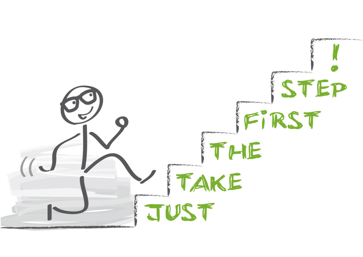 Denk mee? Wat moet mijn eerste stap zijn?